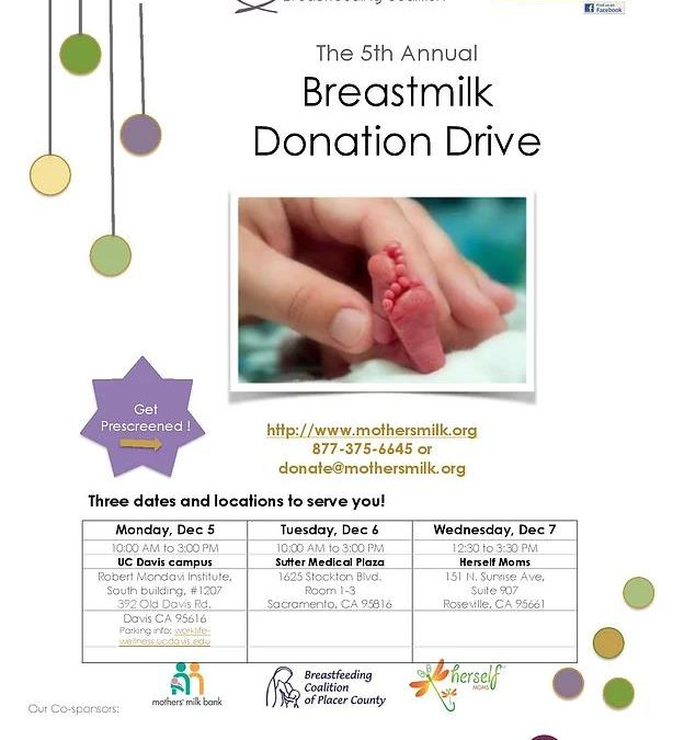 The 5th Annual Breastmilk Donation Drive