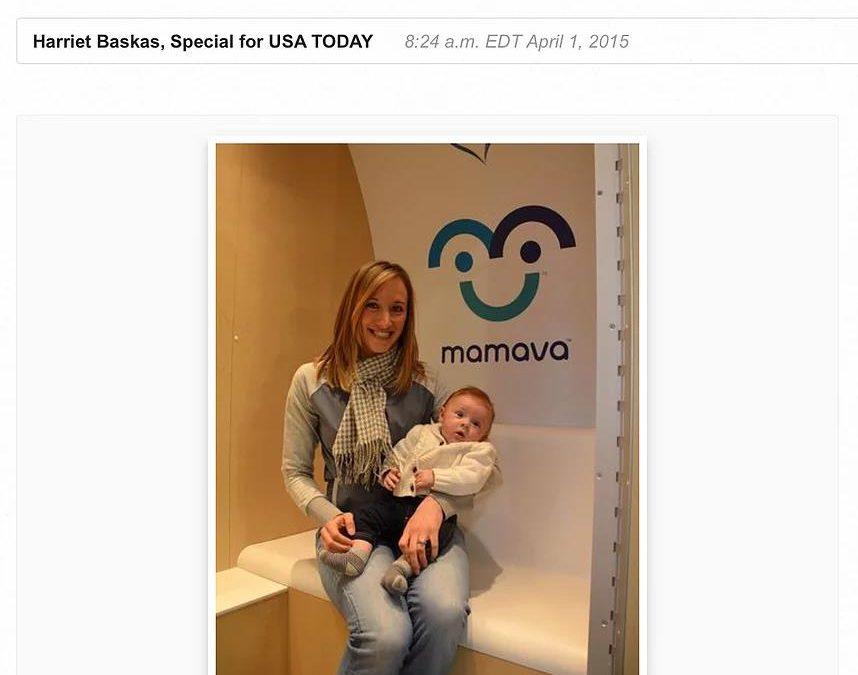 Lactation stations ease airport grind for nursing moms