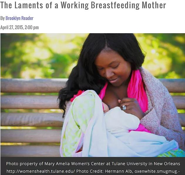 The Laments of a Working Breastfeeding Mother